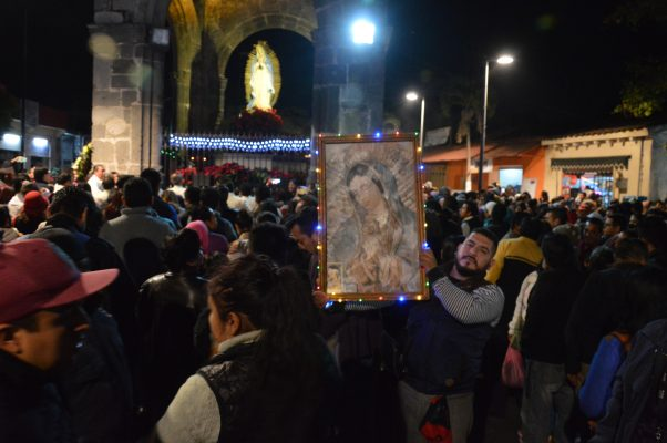 Peregrinan por la Virgen de Guadalupe