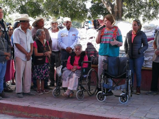[EN VIVO] Entregan apoyos a habitantes de La Nopalera