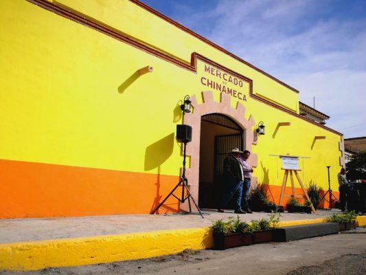 [EN VIVO] Se inaugura el mercado de Chinameca; entrega de apoyos en Ayala