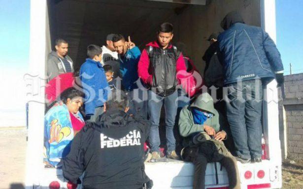 Rescatan a 29 migrantes centroamericanos