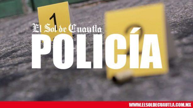 Lesiona bala perdida a hombre en Yautepec