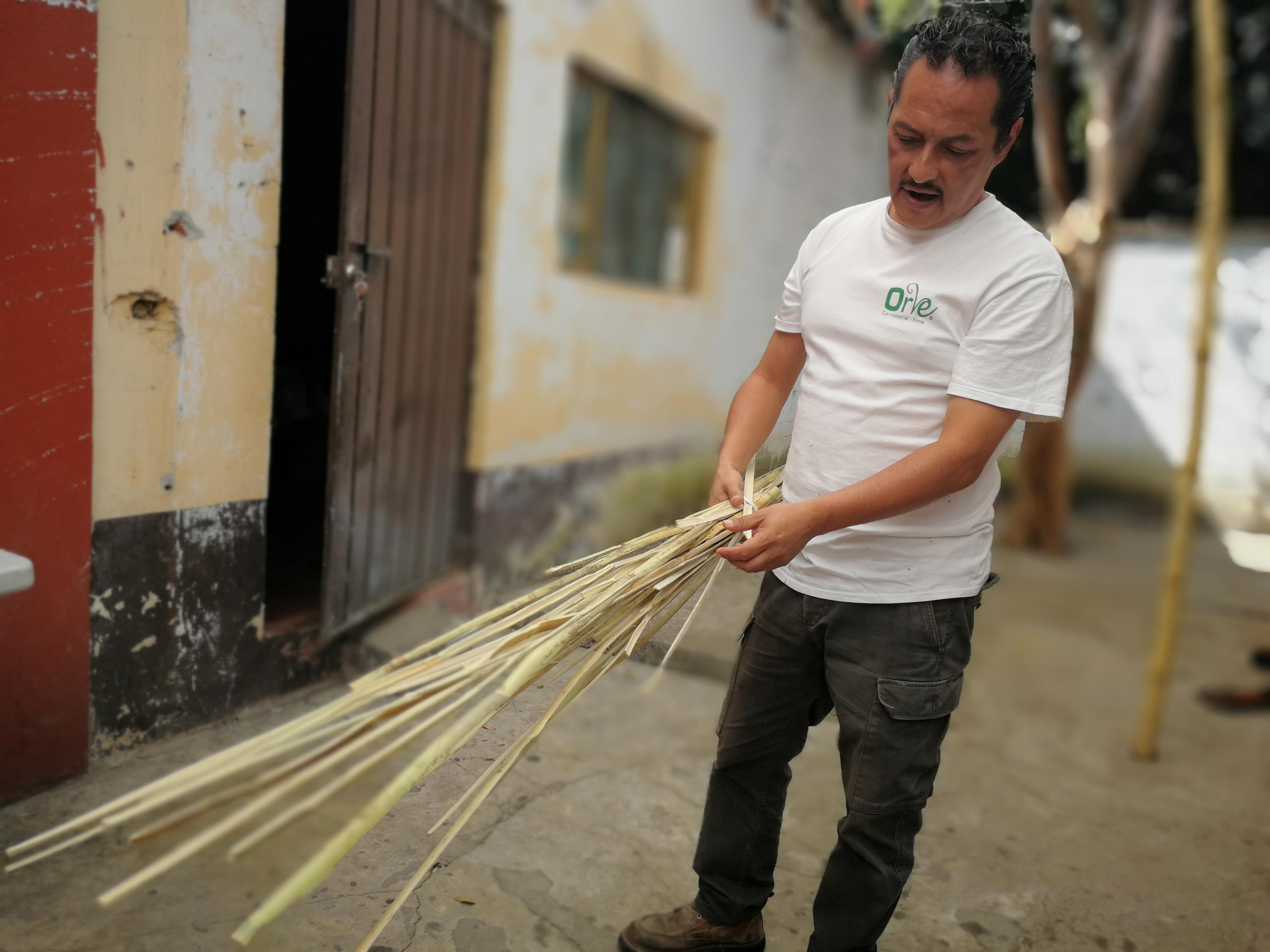 Flavio rompió con la forma tradicional de la cartonería. Foto: Gude Servín