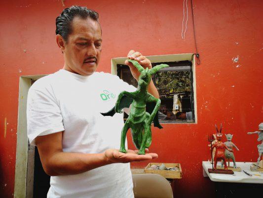 Revoluciona Flavio Gutiérrez el mundo de los alebrijes