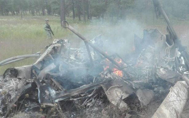 Se estrella helicóptero en Nuevo México, hay al menos cinco muertos