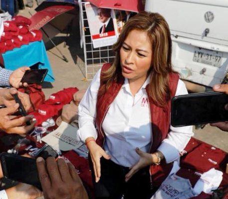 Acuerda Lucía Meza con comisariados apoyos para  el campo