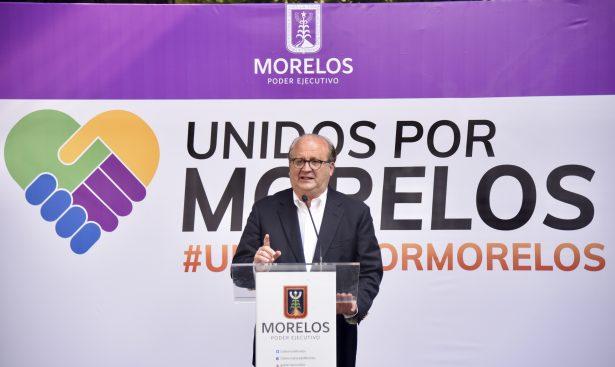 En 2018, fortaleza para reconstruir Morelos: Graco Ramírez