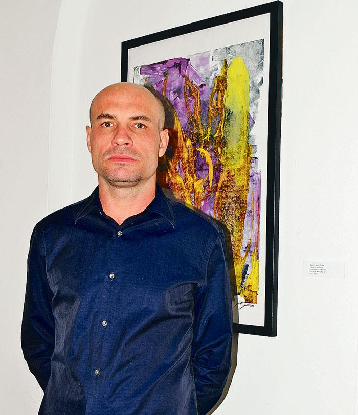 Inaugura Jordi Prats exposición con causa