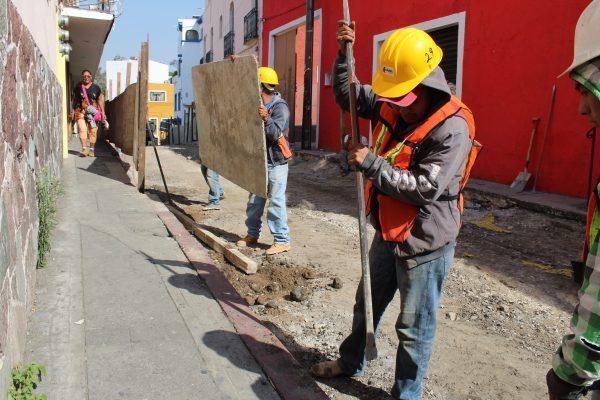Garantizan seguridad de peatones en obras de la Ecozona