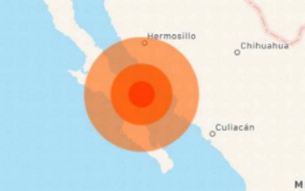 Registran sismo de magnitud 6.3 en Baja California Sur