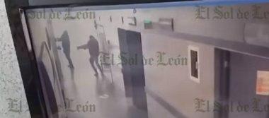 Así remataron a hombre en hospital de Guanajuato