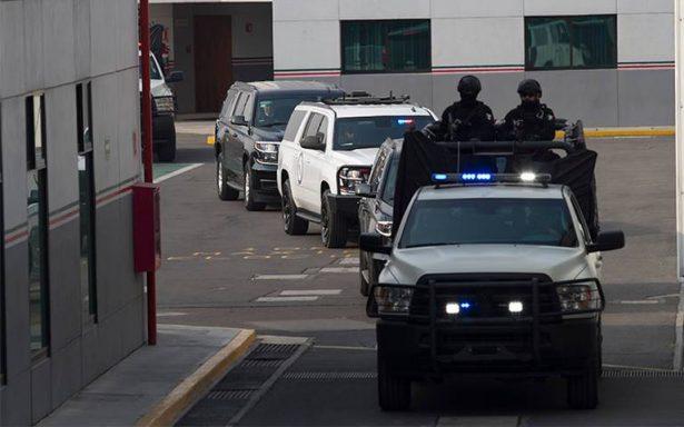Trasladan a Roberto Borge a Morelos