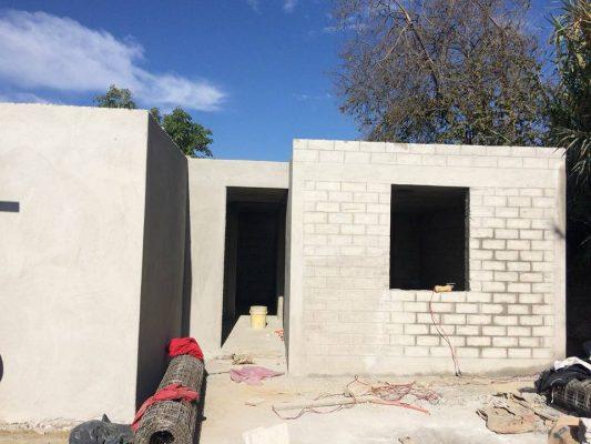 Reconstruyen casas en Ocuituco
