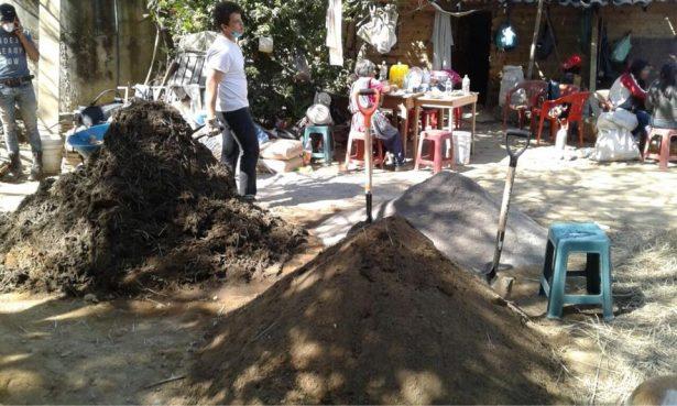 Transforman la basura en casas