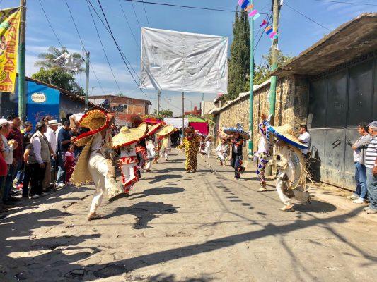 """Visita la """"Danza de  los Tecuanes"""" a Ocotepec"""