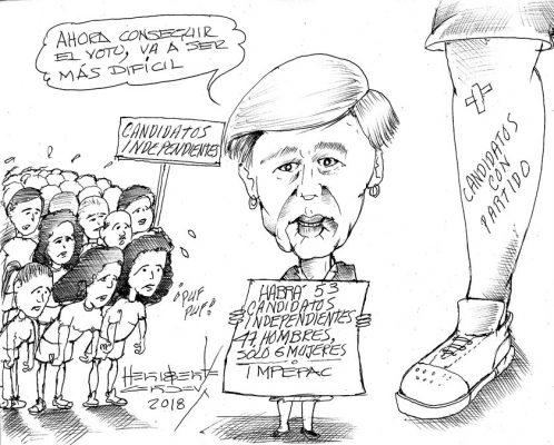 Cartón: Escasean candidatas