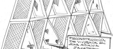 Cartón: Castillos de naipes