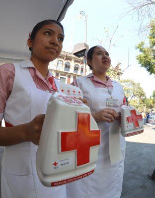 Dona Gobierno 3.3 mdp a Cruz Roja