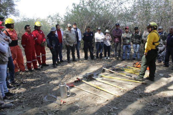Morelos, preparado para sofocar incendios forestales