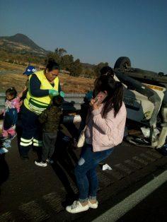 accidente Paseantes del Edomex se dirigían a un balneario de Cuautla