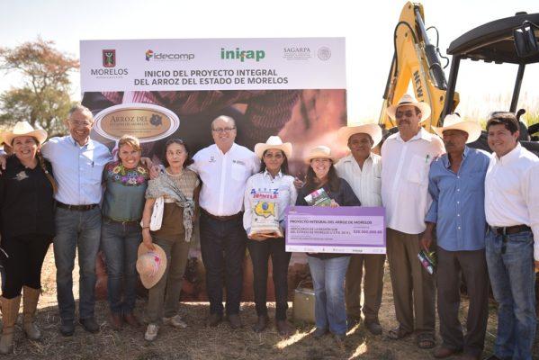 [VIDEO] Impulsan proyecto productivo de Arroz Morelos