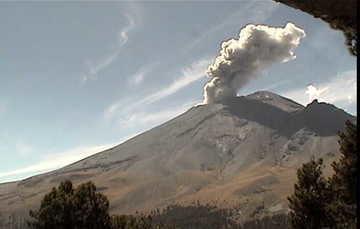 Suman cuatro sismos volcanotectónicos en el Popocatépetl