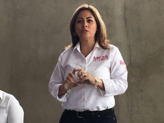 Lanza Lucía Meza ultimátum al jefe del Ejecutivo