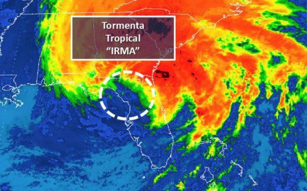 Irma entra a Tampa y se degrada a tormenta tropical