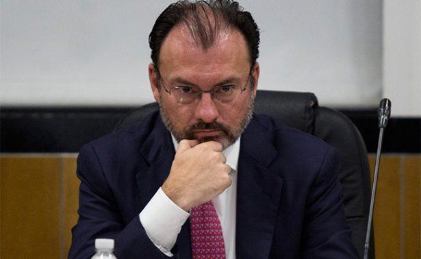 """Venezuela tacha de """"infames"""" declaraciones de Luis Videgaray"""