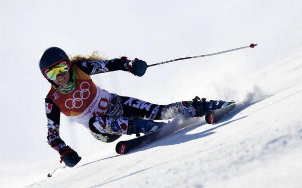 Mexicana Sarah Schleper, positiva pese a no terminar su debut olímpico en Pyeongchang 2018