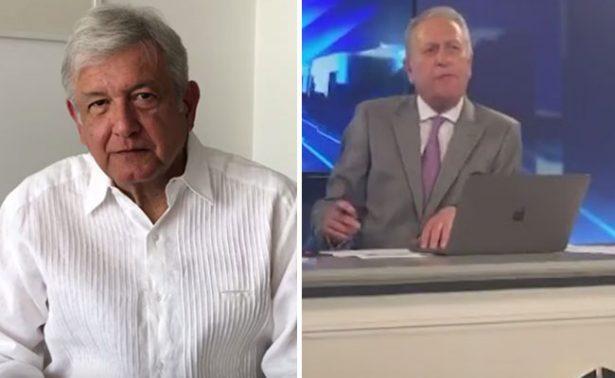 [Video] Así fue la pelea entre Pepe Cárdenas y López Obrador