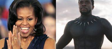"""Michelle Obama te recomienda """"Black Panther"""" y ésta es la razón"""