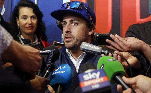 El piloto Fernando Alonso en las 500 Millas de Indianápolis