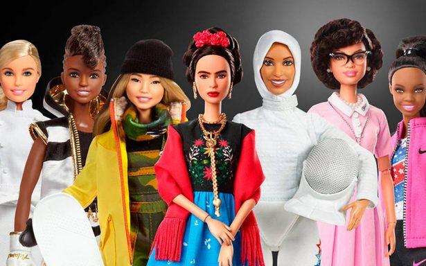 Mattel celebra a mujeres con sus 'Sheroes': Frida Kahlo se convierte en una Barbie