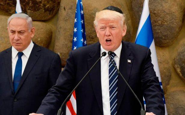 Trump informa a Palestina su intención de trasladar embajada de EU a Jerusalén
