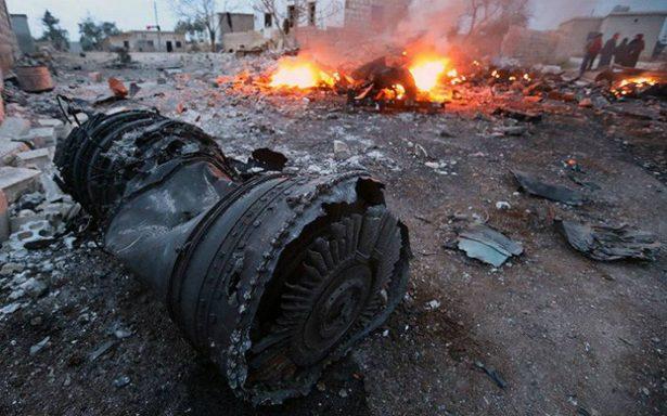 Avión ruso se estrella en Siria; reportan 32 muertos