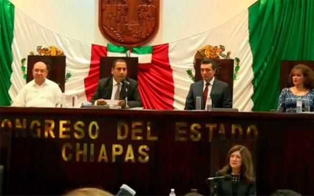 Congreso de Chiapas acuerda no recibir recursos públicos para elecciones de 2018