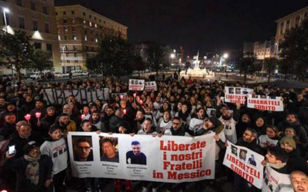 Italia enviará delegación de policías para hallar a napolitanos desaparecidos en Jalisco