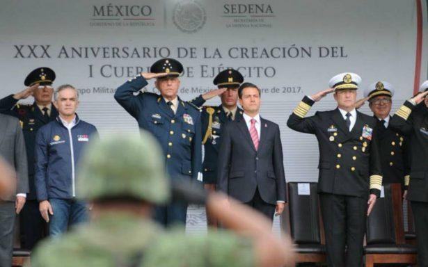 Ciudadanos e instituciones permitieron a México ponerse de pie tras sismo: Peña Nieto