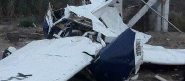 Se desploma avioneta en Sonora, mueren todos sus ocupantes