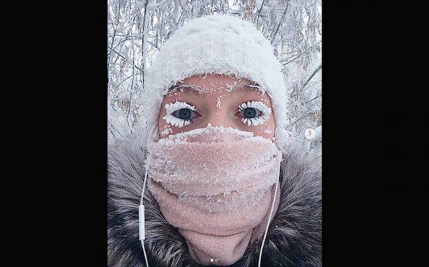 Frío extremo en Siberia, registran temperaturas de hasta 68 grados bajo cero
