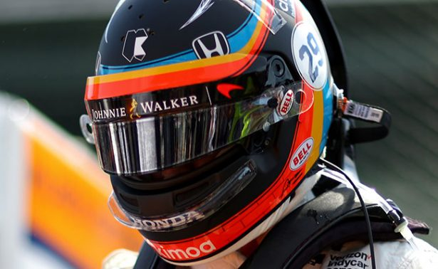 Fernando Alonso listo para las 500 Millas de Indianápolis