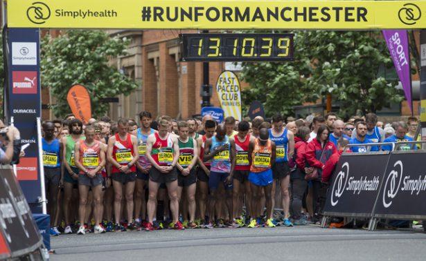 Realizan medio maratón de Manchester en honor a víctimas de atentado