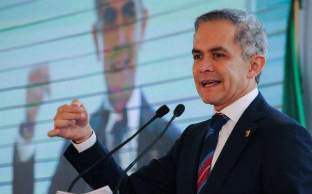 INE suspende spots de Mancera por promoción personalizada