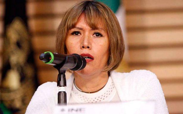 Lorena Osornio alcanza registro como independiente a la CDMX