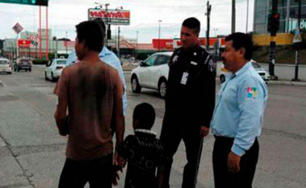 Rescatan a cuatro menores explotados laboralmente