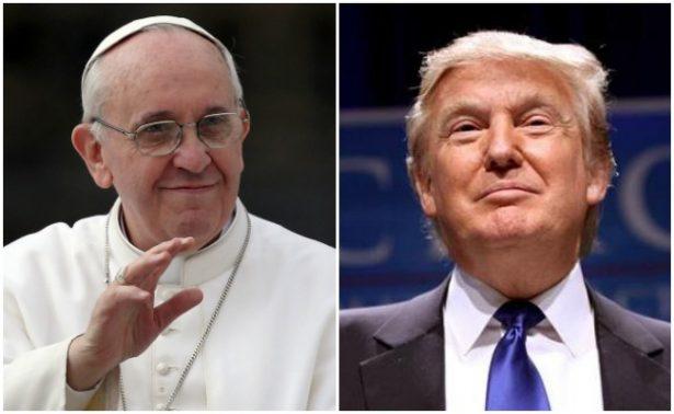 Papa Francisco recibirá este miércoles a Trumpen el Vaticano