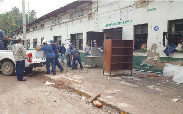 Inicia demolición de ingenio Emiliano Zapata
