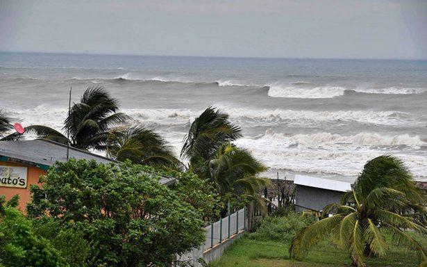 Veracruz empieza a sentir los efectos del huracán Katia