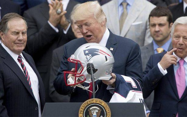 Trump rompe tradición de Bush y Obama: no será entrevistado en el Super Bowl