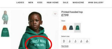 Tras polémica por racismo, H&M retira sudadera de sus tiendas